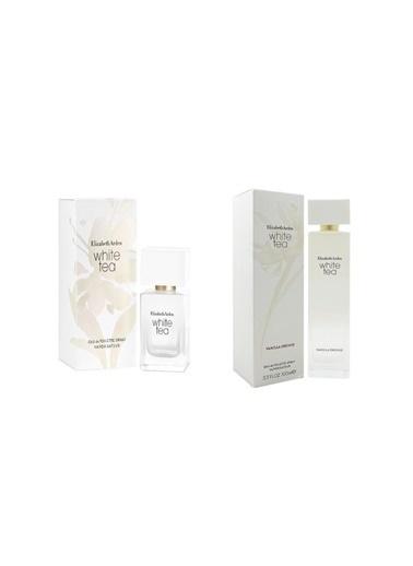 Elizabeth Arden White Tea Edt Sprey 100 ml+White Tea Edt 30 ml Kadın Parfüm Renksiz